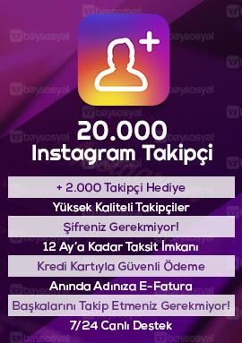 20000 instagram takipçi satın al