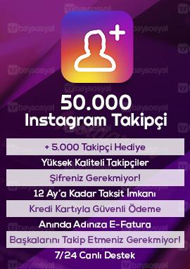 50000 instagram takipçi satın al