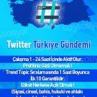 twitter trend topic türkiye gündemi tt olmak